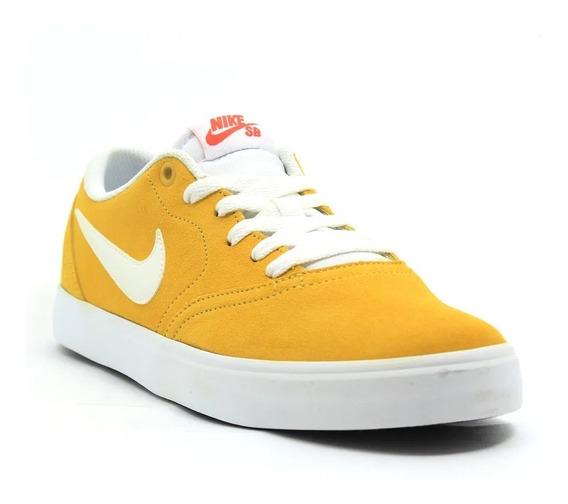 Tênis Nike Sb Check Solar 843895-711 Original-masculino