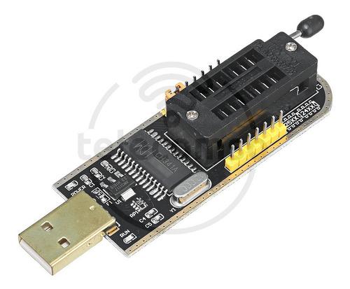 Programador  Flash Bios Memoria Eeprom Usb Ch341a 24x 25x