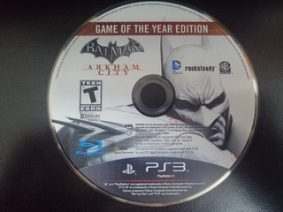 Batman Arkham City Goty Ps3 Fisico Usado Solo Disco