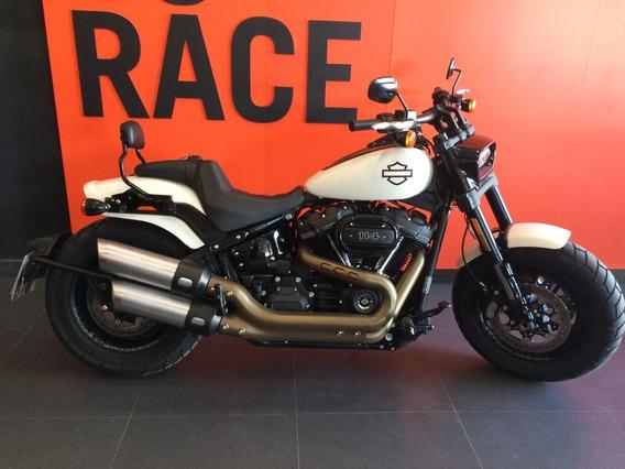 Harley Davidson - Fat Bob 114 - Branca