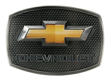 Chevrolet Logo Lazo Dorado Hebilla De Peltre