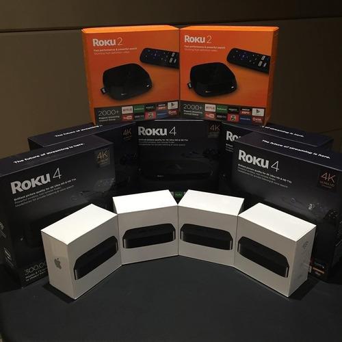 Premium Roku 4 Streaming Media Player 4400r 4k Uhd