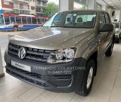 Amarok Trendline 0km 4x2 0km Volkswagen 2021 Doble Cabina Vw