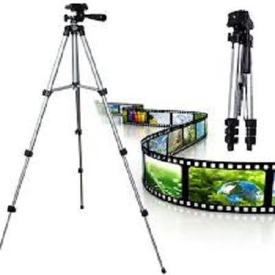 Tripe Em Aluminio Para Camera Digital Celular Com Bolsa 110c