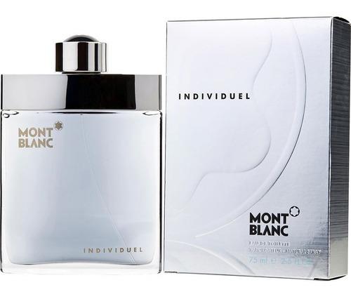 Perfume Locion Individuel Mont Blanc Ho - L a $1800