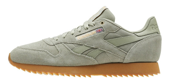Tênis Reebok Classic Leather Montana Canvas Green,imediato