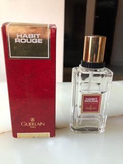 Frasco Perfume Vacío Habit Rouge By Guerlain X 50 Ml C Caja
