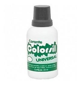 Corante Universal Colorsil 34ml Preto