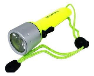 Lanterna Mergulho Q3 Led Cree 180 Lumens Zoom A Prova Dágua