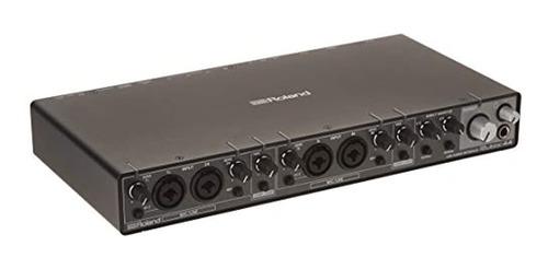Interfaz De Audio Usb Roland Rubix44, 4 Entradas / 4 Salidas