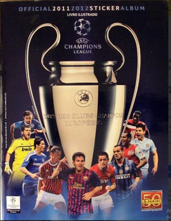 Album Uefa Champions League 2011/12 Completo Fig Soltas