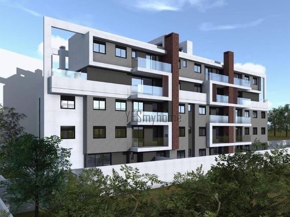 Cobertura Com 3 Dormitórios À Venda, 141 M² Por R$ 988.610 - Hugo Lange - Curitiba/pr - Co0317