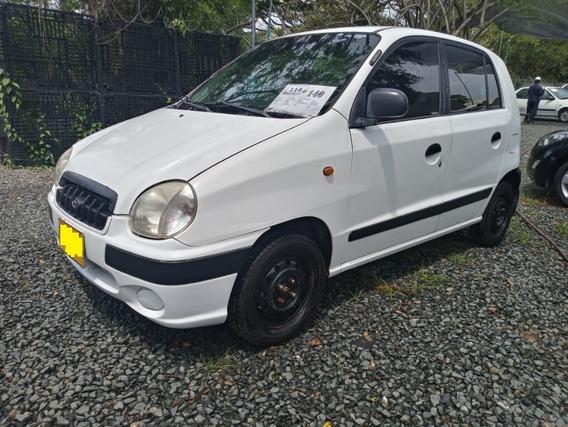 Hyundai Atos Prime Motor 1.0 2002 Blanco 5 Puertas