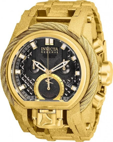 Relógio Invicta Zeus Magnum 26680 Original Banhado Ouro 18k