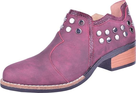 Zapato Charro De Cuero Articulo 1182