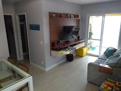Apartamento Com 2 Dormitórios À Venda, 67 M² Por R$ 430.000 - Olímpico - São Caetano Do Sul/sp - Ap2024