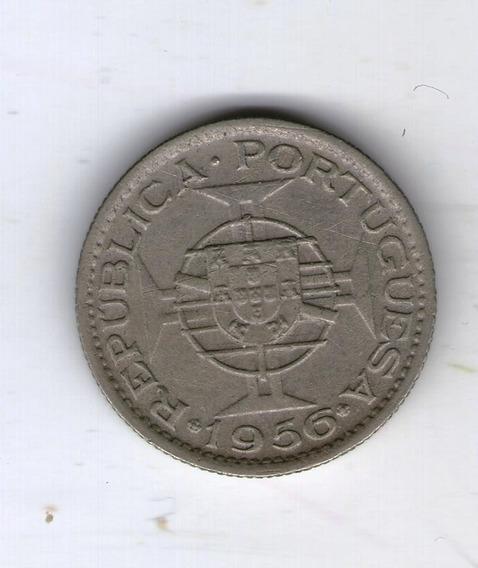 Angola Moneda 2 Y 1/2 Escudos Km#77 - Argentvs