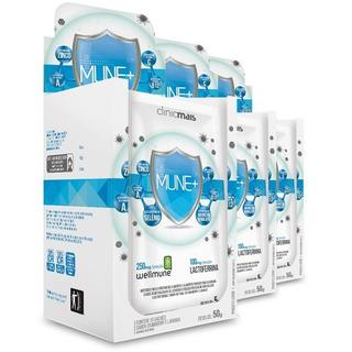 Kit Com 3 Mune + Para Imunidade Wellmune Chá Mais 10 Sachês