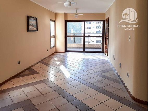 Apartamento Com 3 Dormitórios Para Alugar, 130 M² Por R$ 3.500,00/mês - Pitangueiras - Guarujá/sp - Ap5036