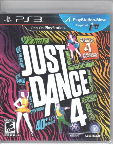 Just Dance 4 Ps3 Original Mídia Física