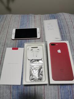iPhone 7 Plus - 128gb - Vermelho