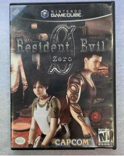 Resident Evil Zero Nintendo Game Cube