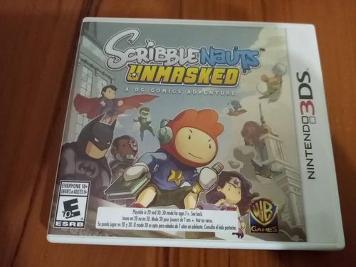 Juego Scribblenauts Unmasked - Nintendo 3ds