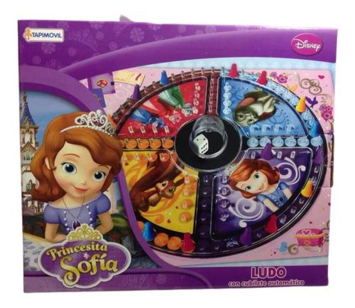 Imagen 1 de 2 de Ludo Matic  Disney Princesa Juego De Mesa Cubillete