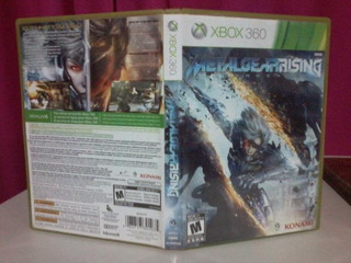 Metal Gear Rising Xbox 360