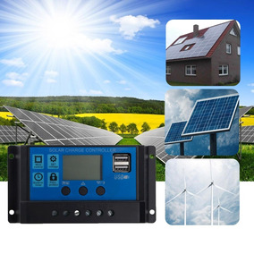 Controlador De Painel Solar 20a
