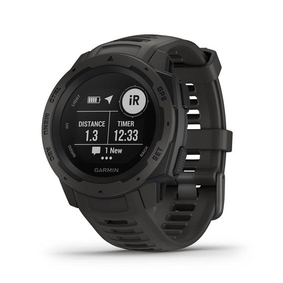 Relógio Multiesportivo Gps Garmin Instinct Preto Nfe M8corp