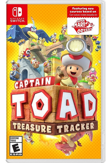 Captain Toad Treasure Tracker Switch Mídia Física