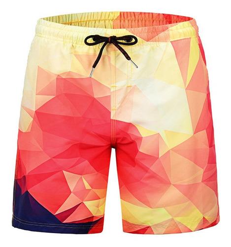 Pantalones Cortos Playa Hombres Pantalones Playa Cuadros Bri Mercado Libre
