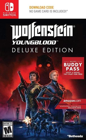 Wolfenstein : Young Blood Nntendo Switch - Pronta Entrega !