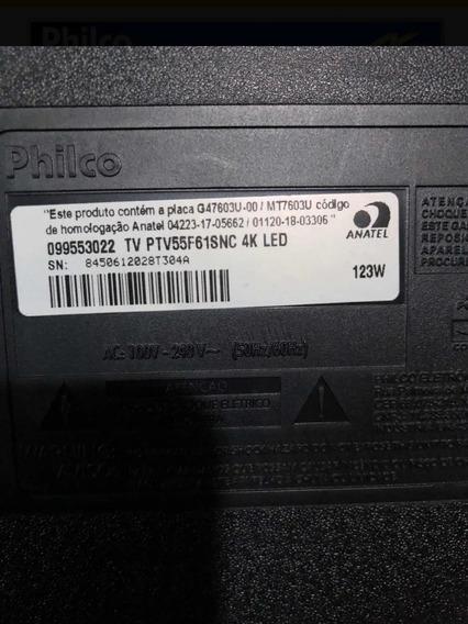 Smart Tv Phlico 4k 55 Polegadas