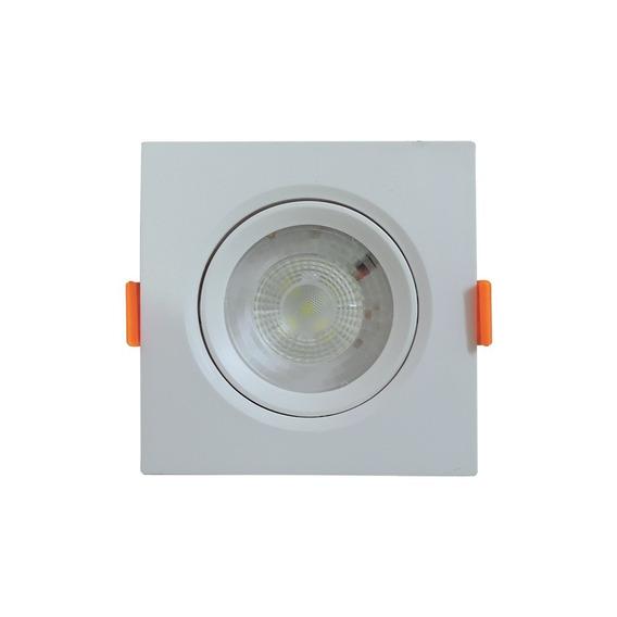 Luminária Led Ecospot Quadrado Para Embutir 5w 6500k Elgin.
