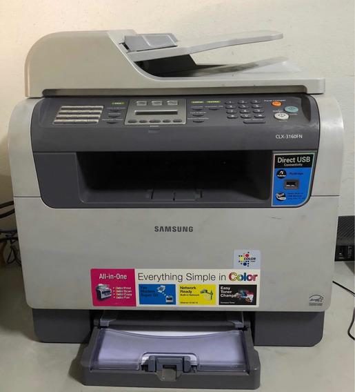 Impressora Samsung Modelo Clx 3160 Usada