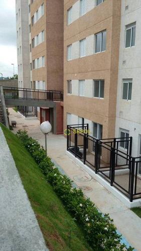 Apartamento Com 2 Dormitórios À Venda, 45 M² Por R$ 223.000 - Parque São Lourenço - São Paulo/sp - Ap1054