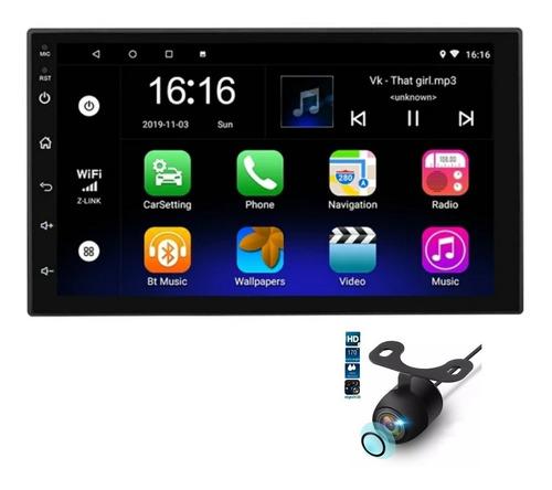 Imagen 1 de 10 de Radio Multimedia Android Pantalla 7  Gps Camara De Reversa