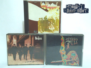 Led Zeppelin, Beatles, Jethro Tull Cd`s Originales (usados)