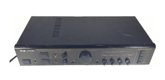 Amplificador Com Mixer 112w Unic Ac 1400 - Funcionando