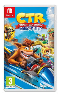Juegos Nintendo Switch Crash Team Racing Nuevo Meses /u