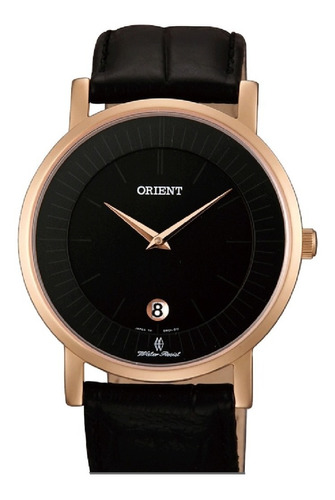 Reloj Hombre Orient Fgw0100bb0  Extraplano Zafirado Japón