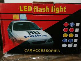 Luzes De Led Strobo Com Controle Para Veiculos