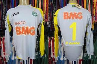 Coritiba 2011 Camisa De Goleiro Tamanho G Número 1.