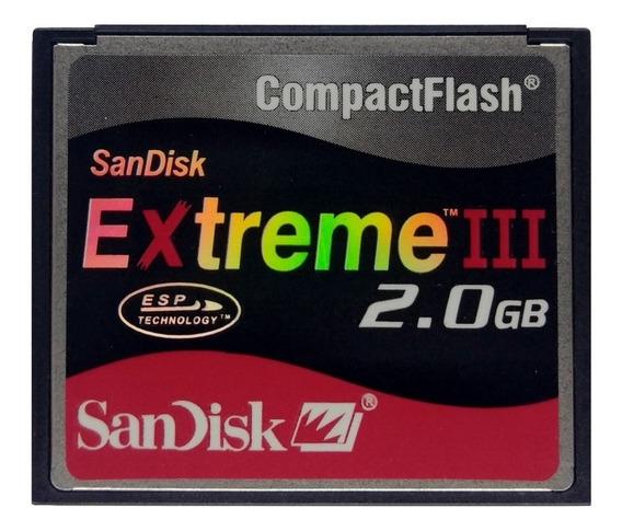 Cf - Compact Flash Sandisk 2gb 18mb/s Canon Nikon Cnc
