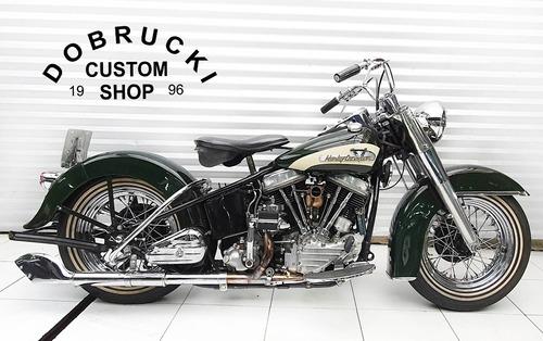 Harley Davidson Pan Head 1956