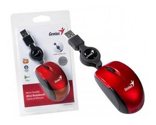 Mini Mouse Usb Con Cable Retractil Diseño Exclusivo Calidad