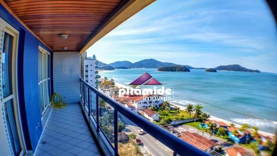 Cobertura Com 3 Dormitórios À Venda, 189 M² Por R$ 1.200.000,00 - Praia Cocanha - Caraguatatuba/sp - Co0146
