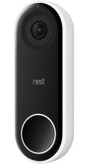 Timbre Nest Hello Video Portero Smart Wifi Negro Original